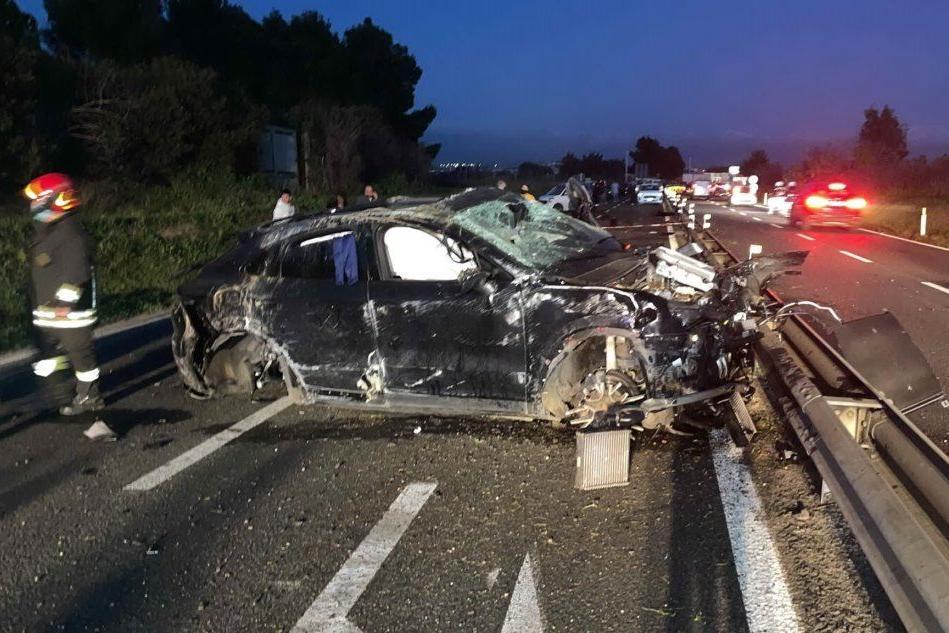 Terribile incidente sulla Strada 554: Andrea Cossu in gravi condizioni