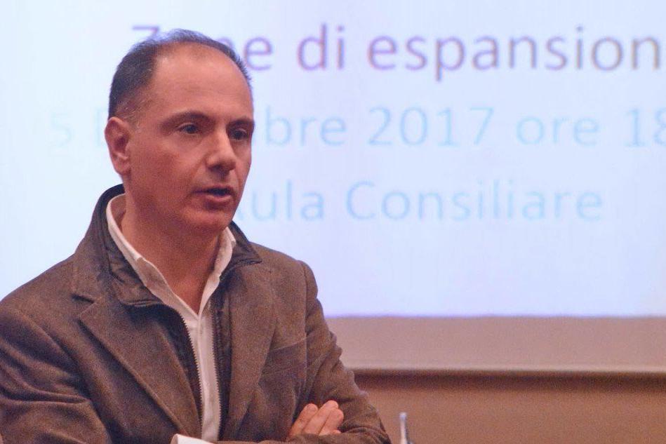 Gigi Concu, sindaco di Selargius (Archivio L'Unione Sarda)
