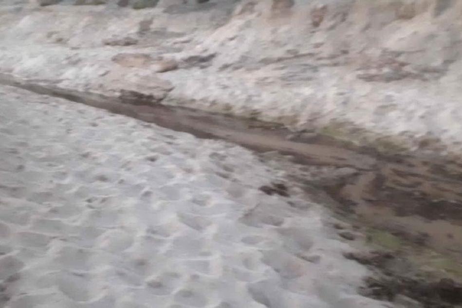 Porto Palmas, non si restringe il canyon a tre mesi dall'inondazione