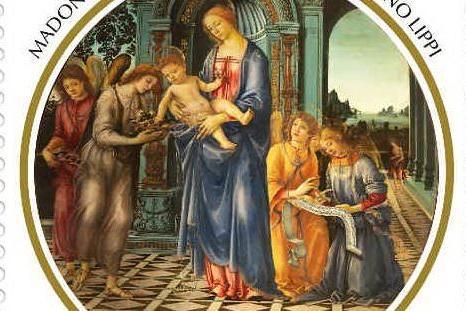 Una Madonna di Filippino Lippi per il francobollo di Natale