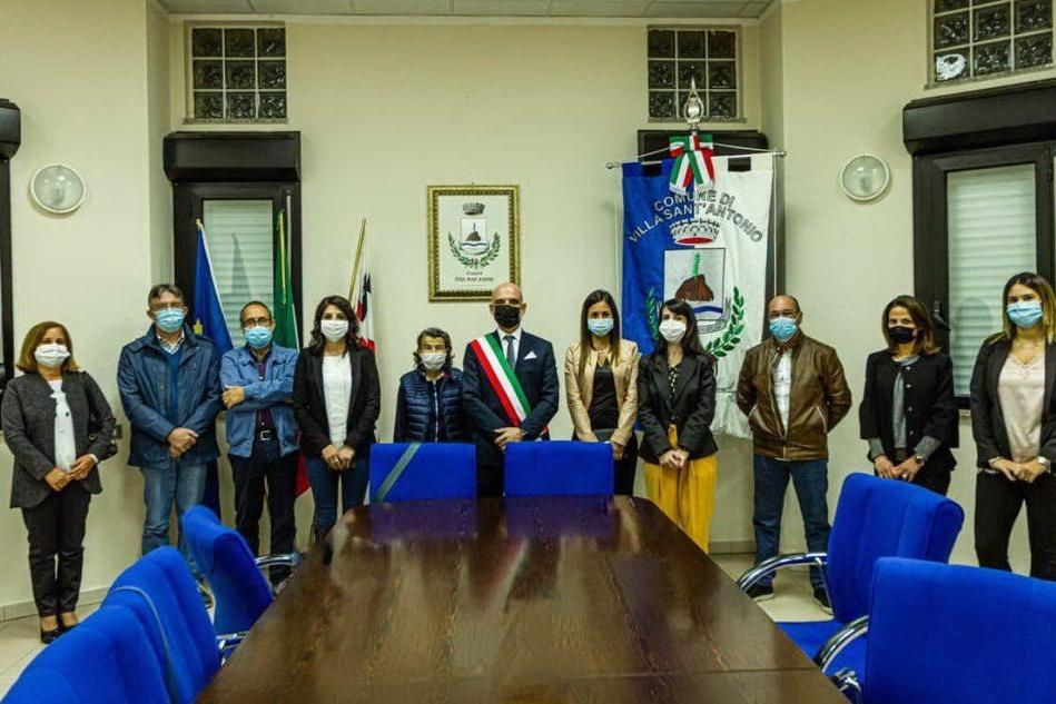 Villa Sant'Antonio, si insedia il nuovo consiglio comunale
