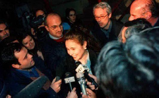 La giovane dopo la liberazione