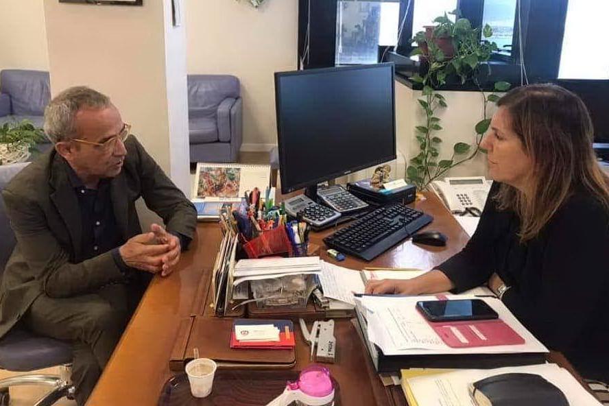 """Incontro tra il presidente dell'associazione """"A. Gramsci"""" di Torino e l'assessore Zedda"""