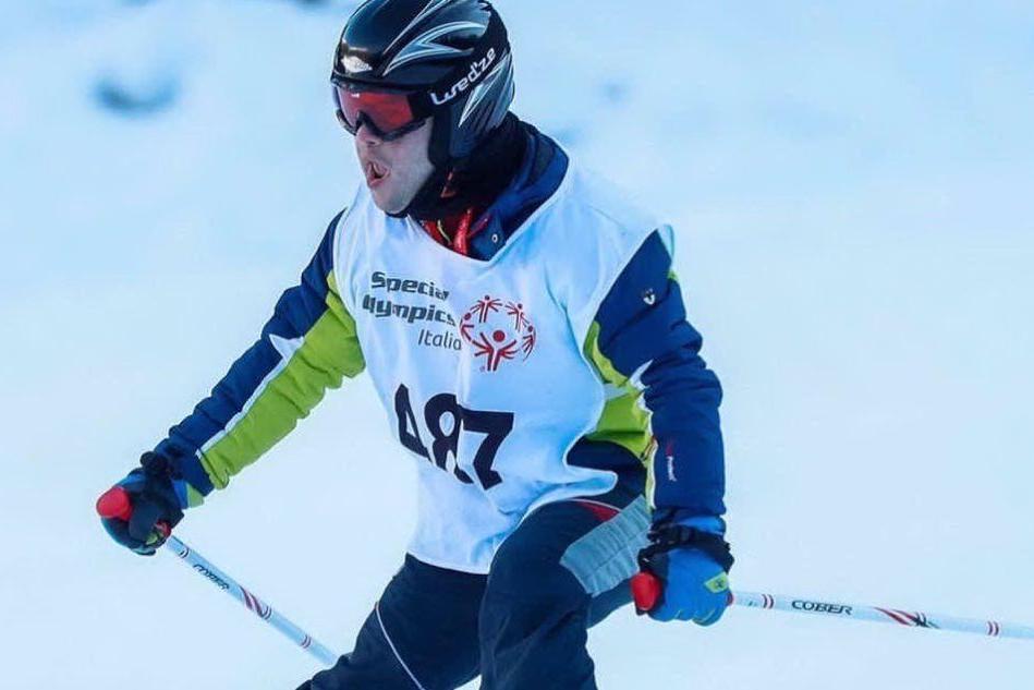Sinnai: Renato Tronci, argento e bronzo ai giochi invernali Special Olympics