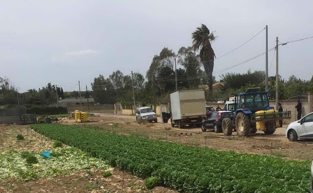 Un agricoltore ha perso la vita (foto L'Unione Sarda - Pinna)