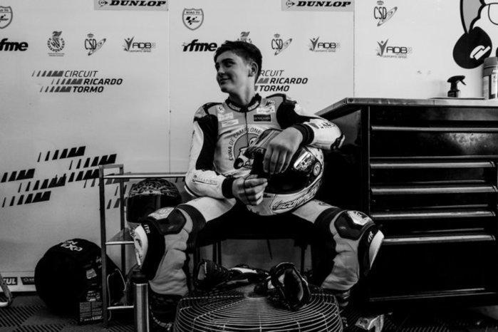 Hugo Millan è morto:il motociclista 14enne è stato investito in gara da un altro pilota