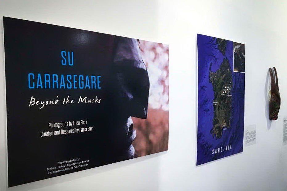 """""""Su Carrasegare - Beyond the Masks"""", tradizione sarda a Melbourne"""