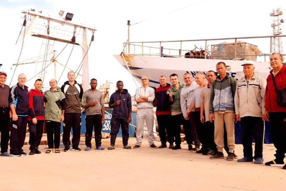 I pescatori di Mazara del Vallo tornano a casa