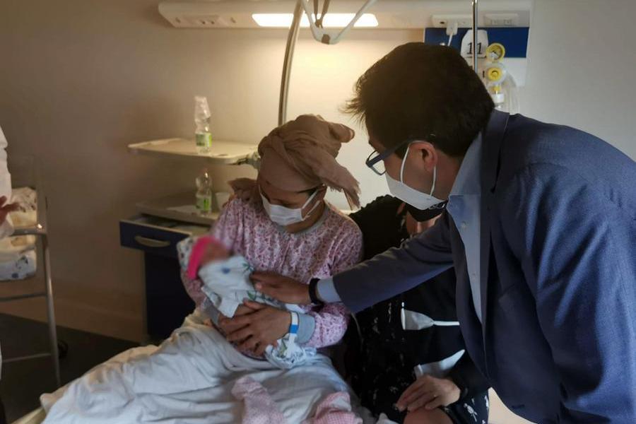 Nasce a Roma Ghazal, la sua mamma è fuggita da Kabul