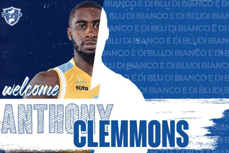 Il nuovo play Anthony Clemmons (foto ufficio stampa)