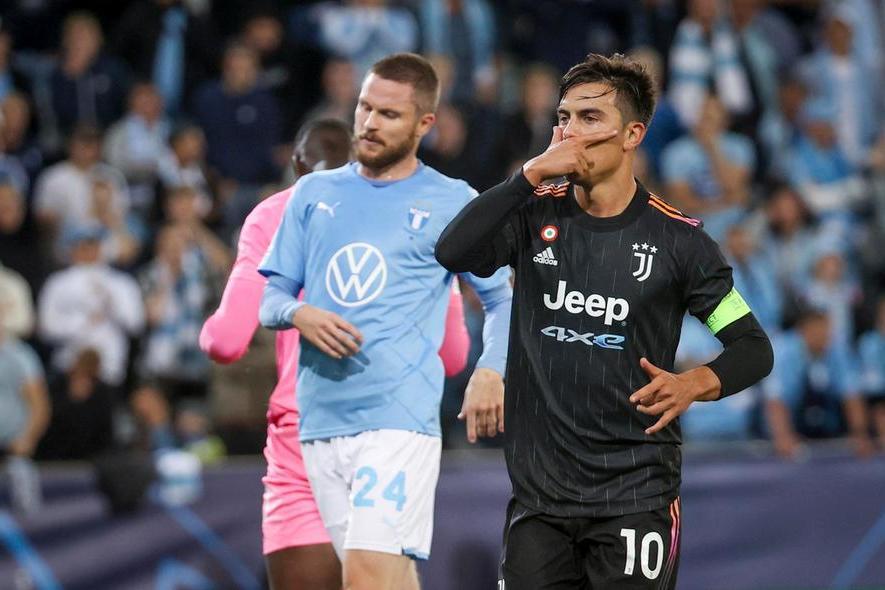Champions: ottimo inizio per la Juve, 2-2 per l'Atalanta