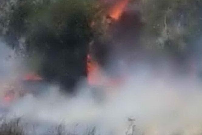 Incendio a Posada, chiusa la 131 dcn