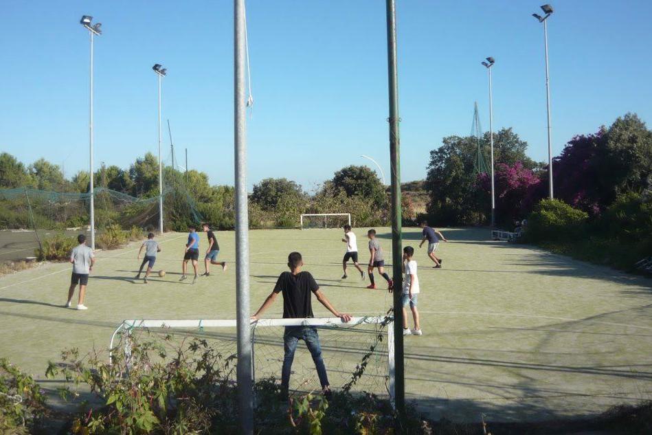 Sinnai, un polo per gli sport minori all'ingresso della pineta