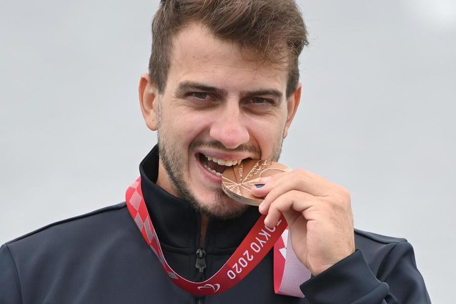 Tokyo, bronzo nel kayak perMancarella: si è allenato anche a Cagliari