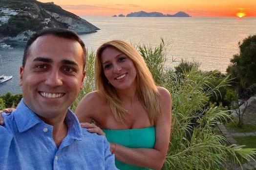 Luigi Di Maio e Virginia Saba (foto Instagram)