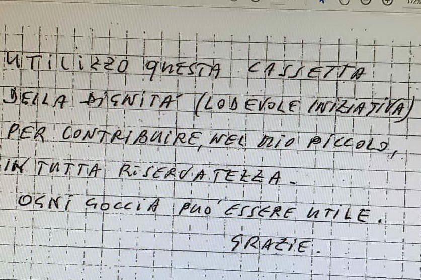 Senorbì, un misterioso benefattore dona 100 euro per i poveri