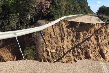 Alluvione a Olbia: dissequestrato il cantiere sul ponte crollato