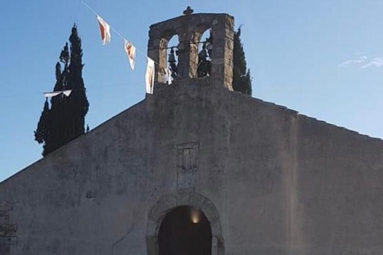 La chiesa di Sant'Amatore (foto Sirigu)