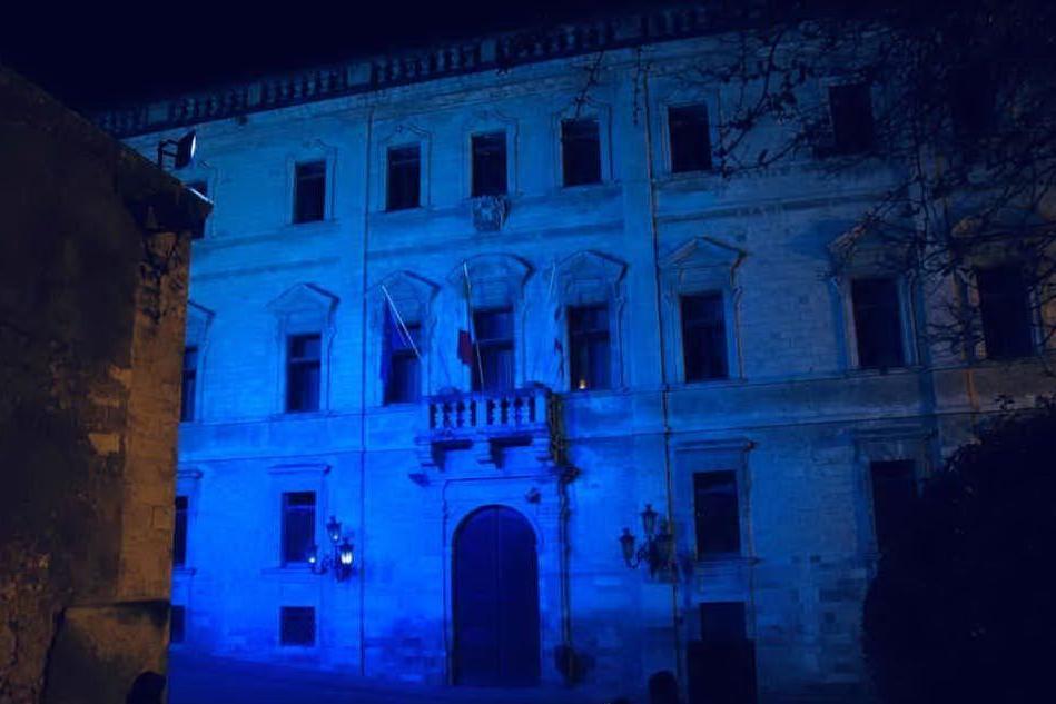 A Sassari, Osilo e Sorso i monumenti illuminati di blu