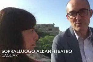 Cagliari, proseguono i lavori all'anfiteatro