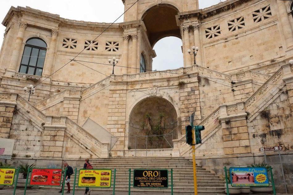 Cagliari, Bastione di Saint Remy: riaperta una parte della terrazza