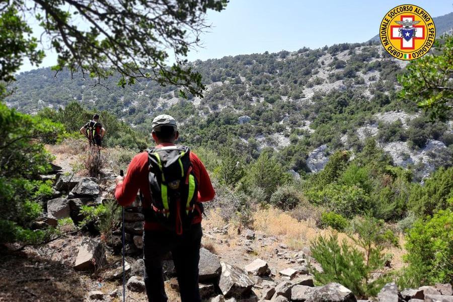 Disperso nel Supramonte di Baunei, escursionista ritrovato