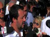 """Migranti, Matteo Salvini in Sicilia: """"Non siamo un campo profughi"""""""