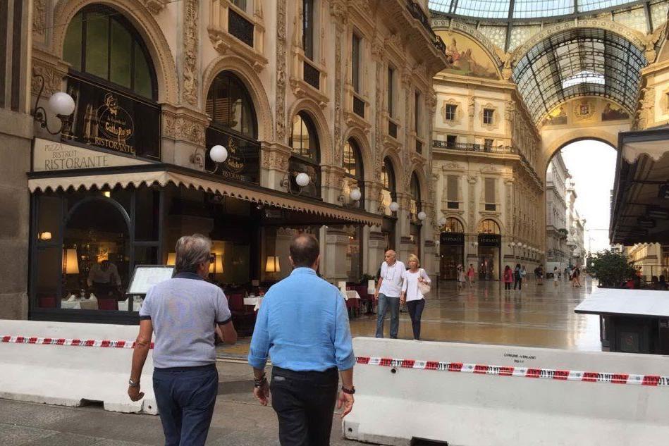 Allarme attentati anche in Italia: Galleria blindata a Milano