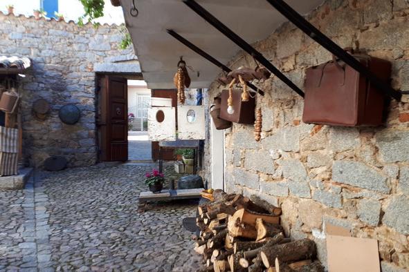 Casa Rosada a Mamoiada (foto Ansa)