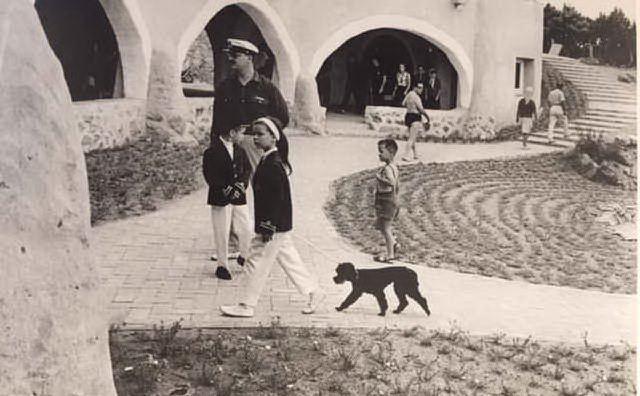 Porto Cervo, Alberto e Carolina di Monaco di Lisetta Carmi (foto concessa)