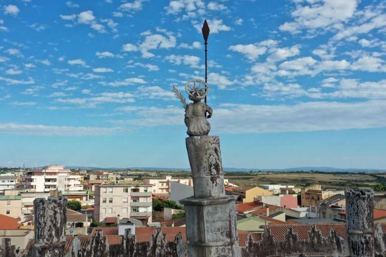Porto Torres, un errore lungo tre secoli: è del 1726 la statua di San Gavino