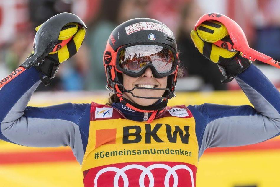 Sci, Brignone vince la Coppa del mondo di combinata