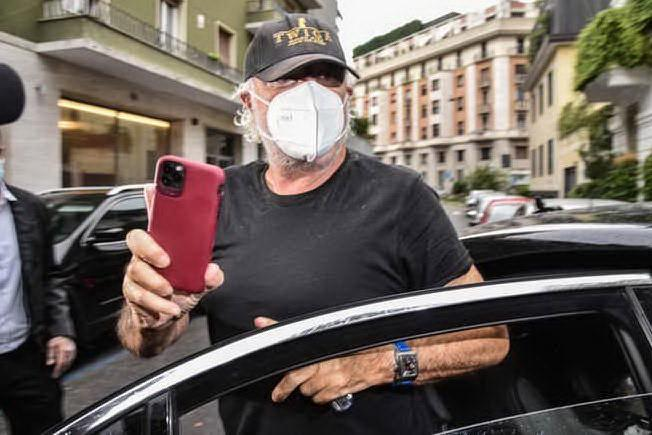 Flavio Briatore (Ansa)