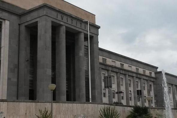 Il tribunale di Cagliari (Ansa)
