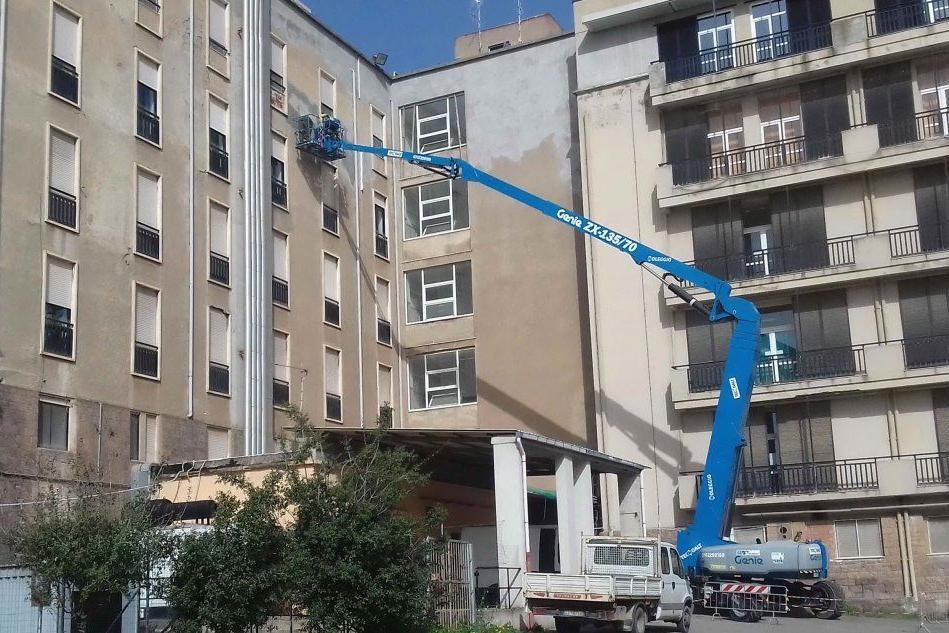 Ospedale Sirai, al via i lavori di manutenzione esterna