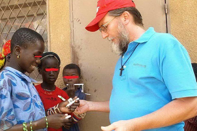 Padre Pierluigi Maccalli (Società Missioni Africane)