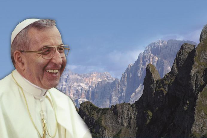 Il Papa Giovanni Paolo I (Ansa)