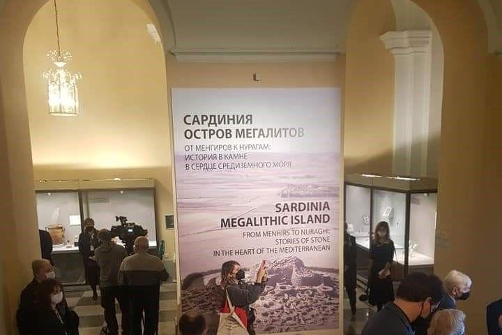 """La """"Sardegna Megalitica"""" in vetrina a San Pietroburgo"""
