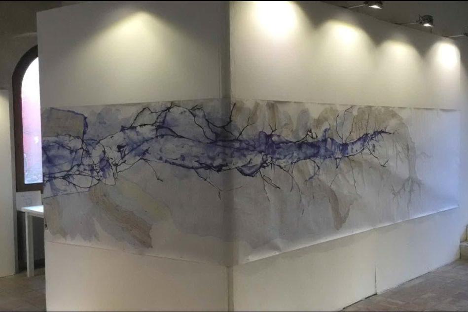 La mostra di Roberto Falchi all'Exma
