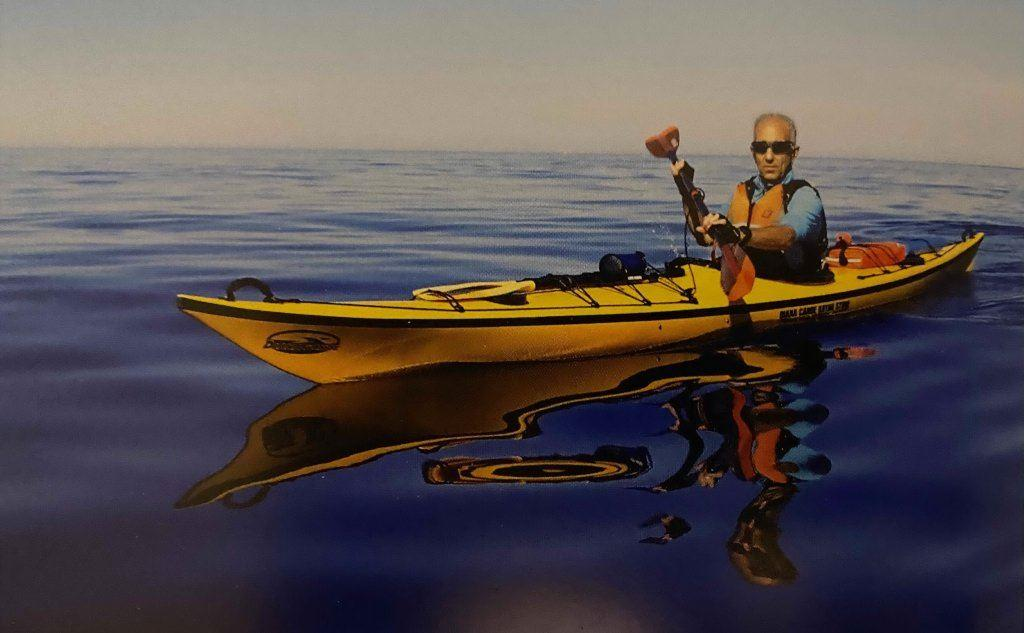 Lino Cianciotto in Kayak