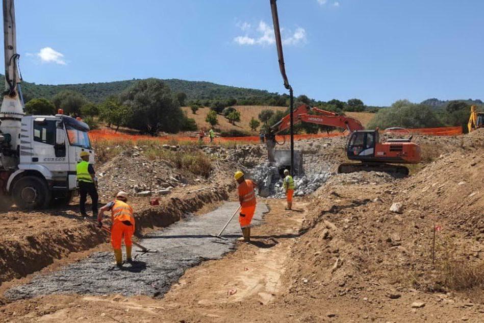 Orientale Sarda, ripartono i lavori a Tertenia e Osini