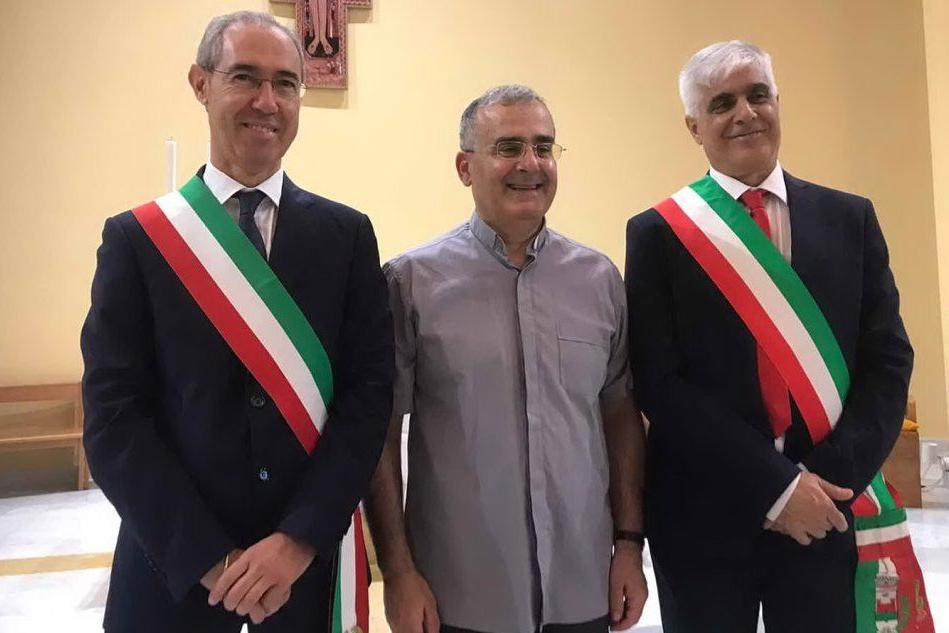Capoterra riabbraccia don Gianni dopo sedici anni