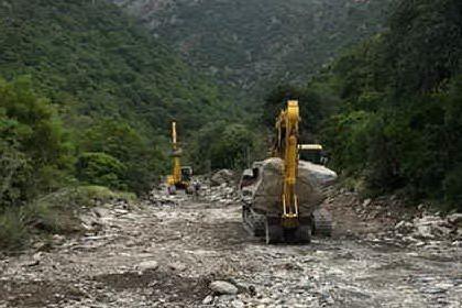 Villaputzu, lavori di recupero del territorio