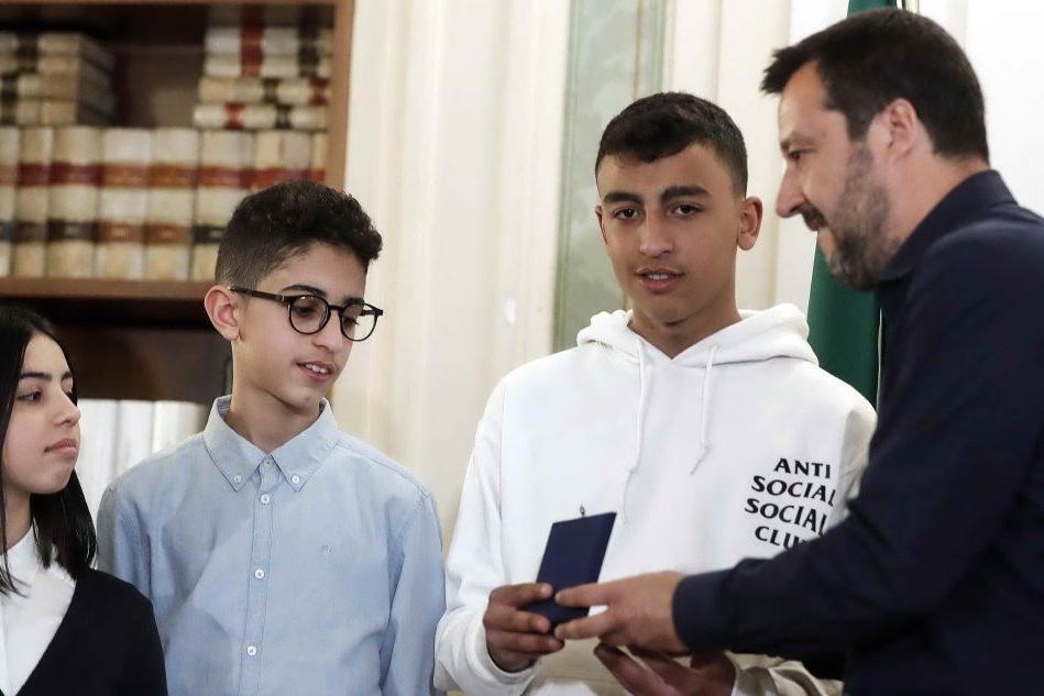 """Salvini: """"Su Ramy e Adam ho deciso da solo, ma la legge non cambia"""""""