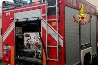 Un intervento del 115 (foto Vigili del fuoco)
