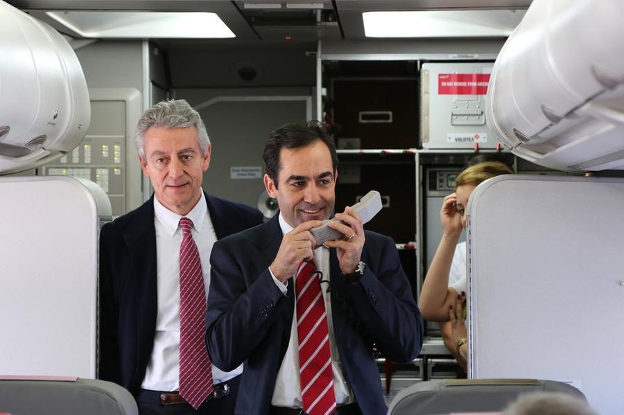 Carlos Muñoz e Lázaro Ros, fondatori della compagnia (L'Unione Sarda)