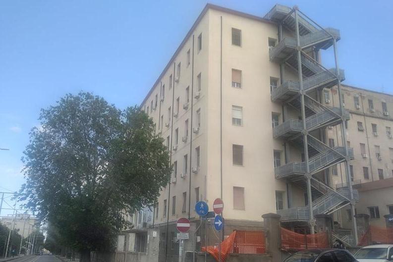 Le cliniche di San Pietro (foto L'Unione Sarda-Tellini)