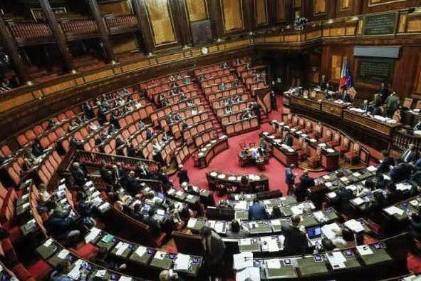 Il Senato della Repubblica (Archivio L'Unione Sarda)