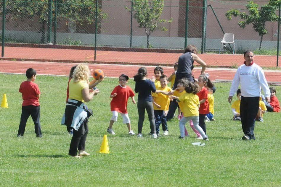 Aree sportive per i bambini, sempre meno in tempo di Covid