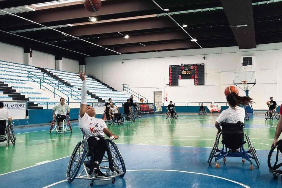 Basket in carrozzina: Porto Torres contro Padova e Dinamo Lab contro Cantù